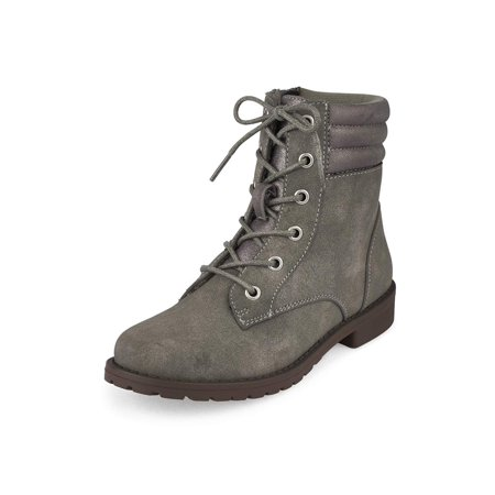 the children's place girls combat ankle zipper combat boots - Girls With Combat Boots