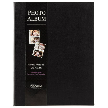 Clemson Photo Album (Pinnacle 8 x 10 Black Linen Photo Album, Holds 240 - 4