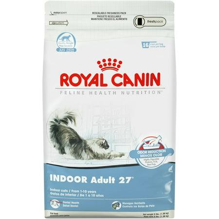 royal canin indoor adult 27 dry cat food 3 lb. Black Bedroom Furniture Sets. Home Design Ideas