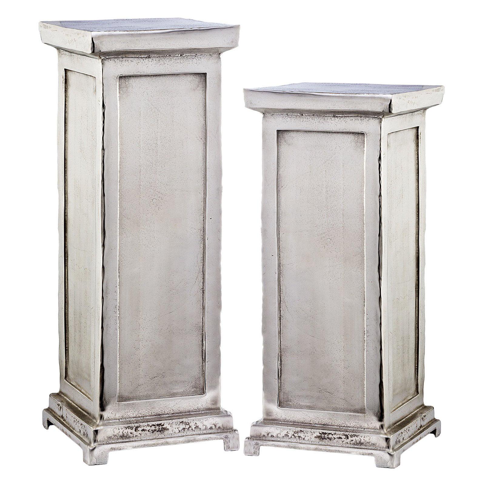 Modern Day Accents Peana Roman Pedestal Sculpture Plant Stand