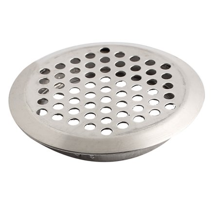 Metal Round Grill (53mm Bottom Dia Metal Round Air Vent Grill Ventilation Cover Silver Tone)