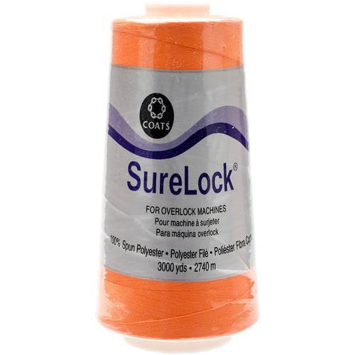 Surelock Overlock Thread, 3,000yd - Nickel