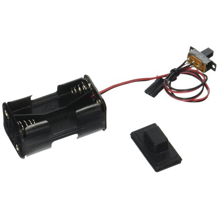 Traxxas Parts - 1523 Battery Holder, Switch and Cover for Villain, Use Traxxas stock and hop-up replacement parts to get the most out of you Traxxas RTR vehicles By Traxxas Ship from US