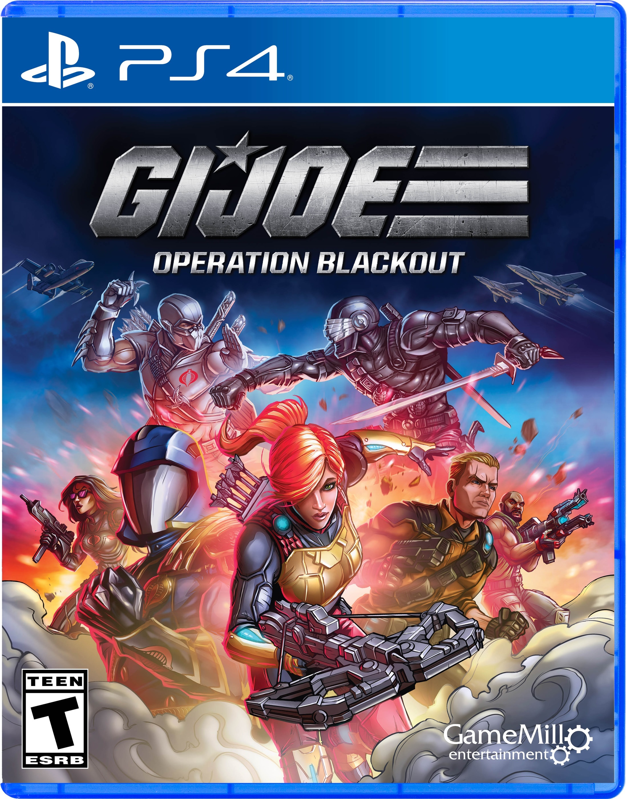 Gi Joe Operation Blackout, GameMill, PlayStation 4, 856131008190
