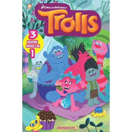 Trolls 3-in-1 #1 : Hugs & Friends, Put Your Hair in the Air, Party With The