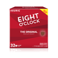 Eight O'Clock The Original, K-Cup Coffee Pods, 32 Count
