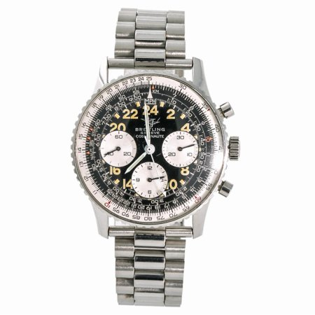 Pre-Owned Breitling Navitimer NO-REF# Steel Watch (Certified Authentic & Warranty)