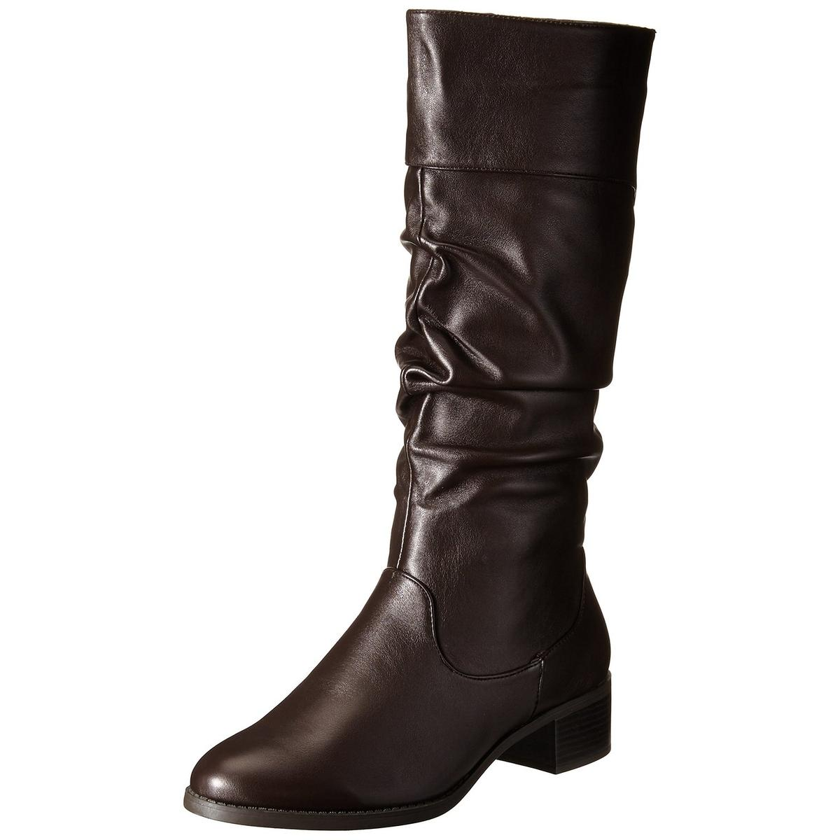 Easy Street Cheyenne Women's Brown Slouch Boot by Easy Street