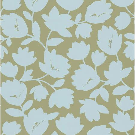 Kenneth James Freesia Fun Floral Wallpaper