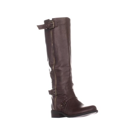 Womens G By Guess Hertlez Riding Boots Brown 5 Us Walmartcom