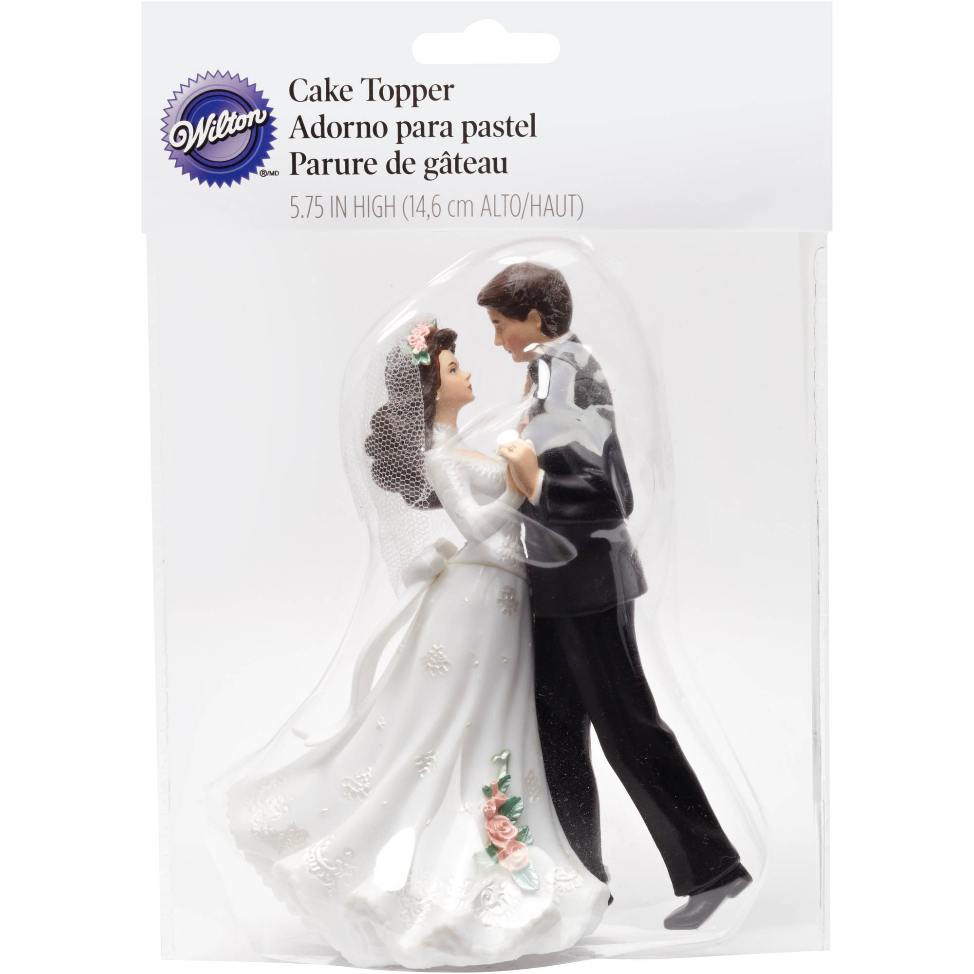 "Wilton 5.75"" Cake Topper, First Dance 202-411"