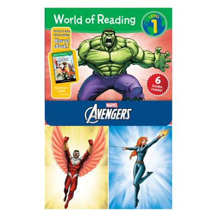 (World of Reading Avengers Boxed Set : Level 1)