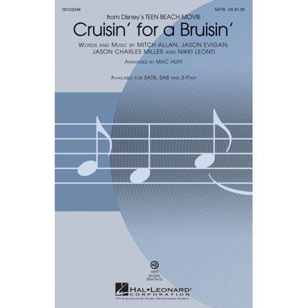 Hal Leonard Cruisin' for a Bruisin' (from Disney Teen Beach Movie) SATB arranged by Mac Huff