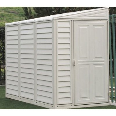 Duramax Sidemate 4 x 8 ft. Tool Shed with Foundation Kit
