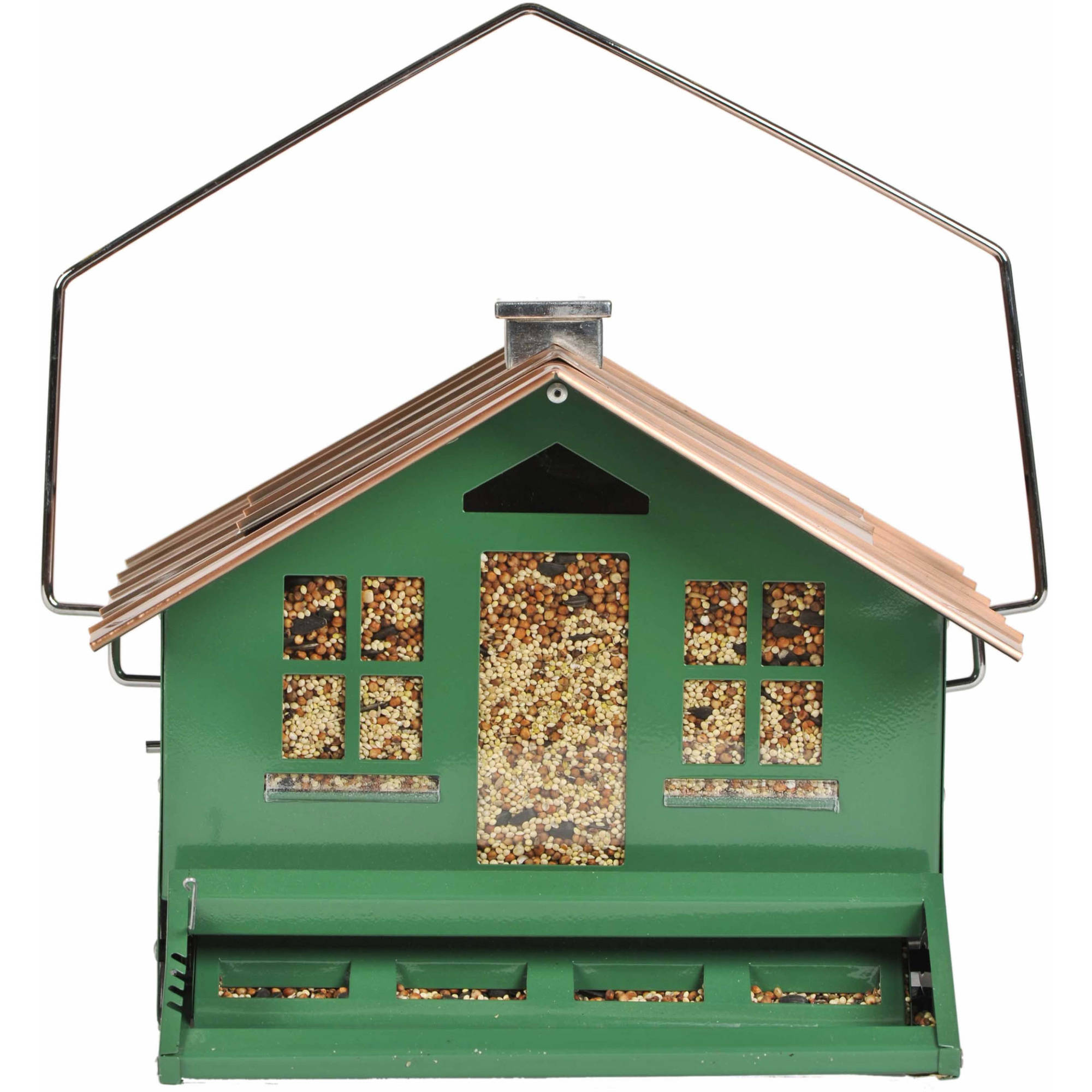 Perky-Pet Squirrel-Be-Gone II Home Style Wild Bird Feeder