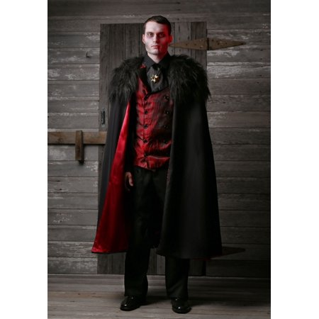 Plus Size Deluxe Men's Vampire Costume - Vampire Costume Plus Size