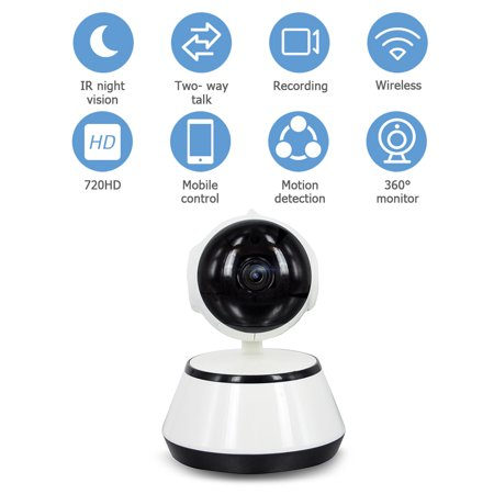 Home Video Camera 720P HD WiFi Wireless APP Control IR Night Vision Camcorder for Home Security Baby older Monitor U.S