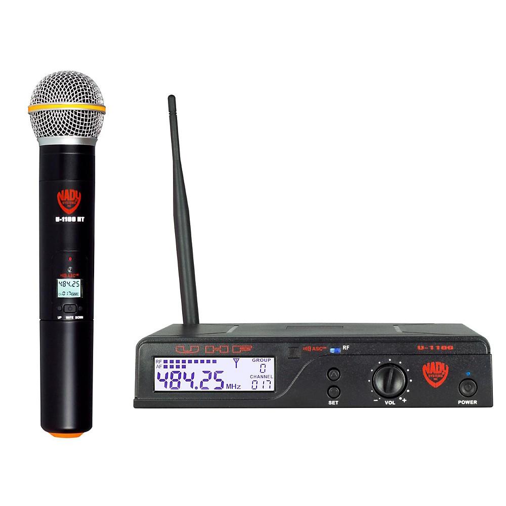 Nady U-1100 Cardioid Dynamic Wireless Handheld Microphone System Band B Band B by Nady