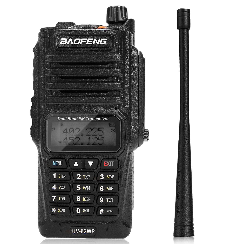 BaoFeng UV_82WP _T_56_ Dual Band Two Way Radio Ham Waterp...