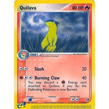 Pokemon Sandstorm Quilava #51 ()