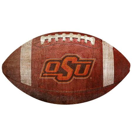 Oklahoma State Cowboys 12'' Football Sign - No Size](Football Sign Ideas)