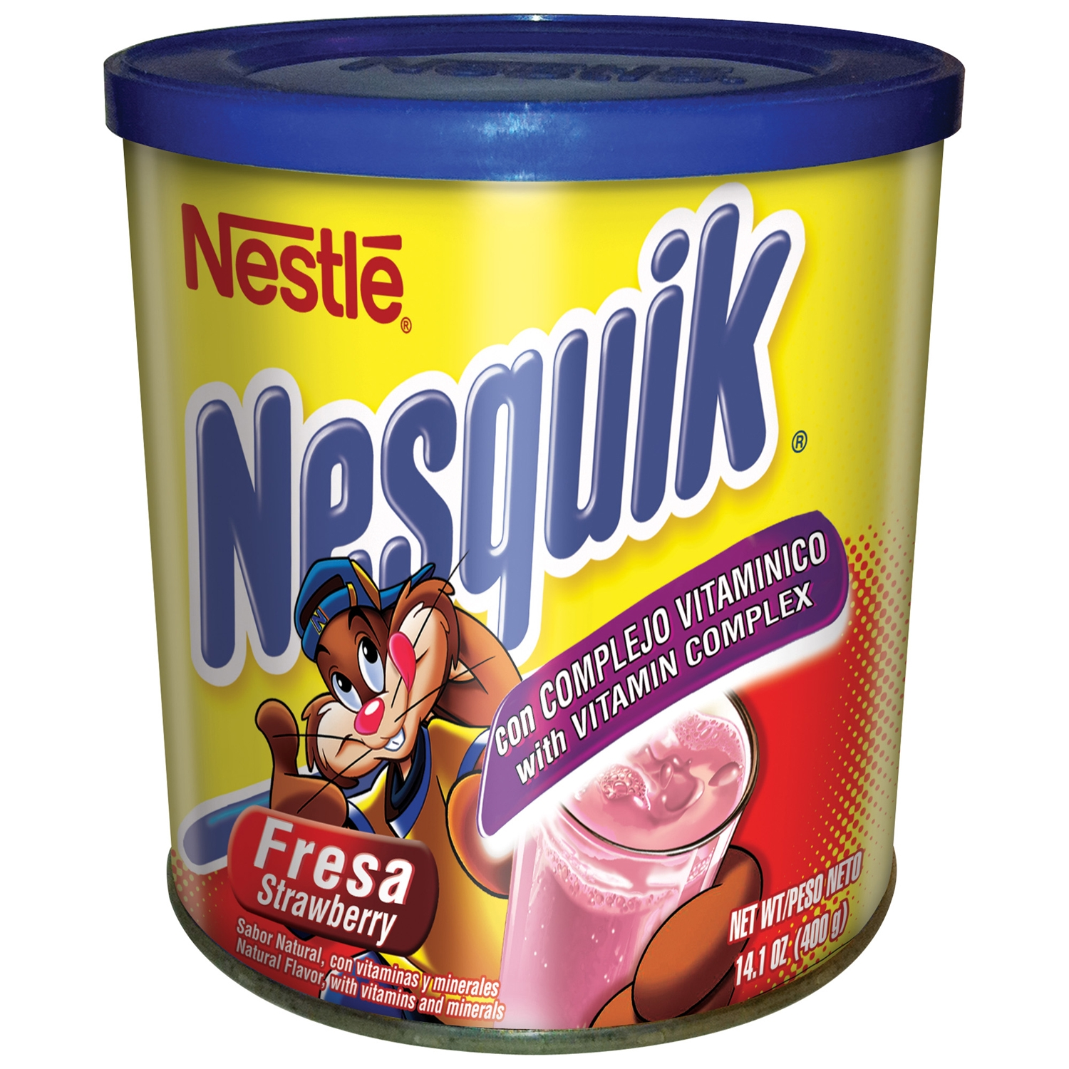 Nestle Drink Mix, Strawberry, 14.1 Oz, 1 Count