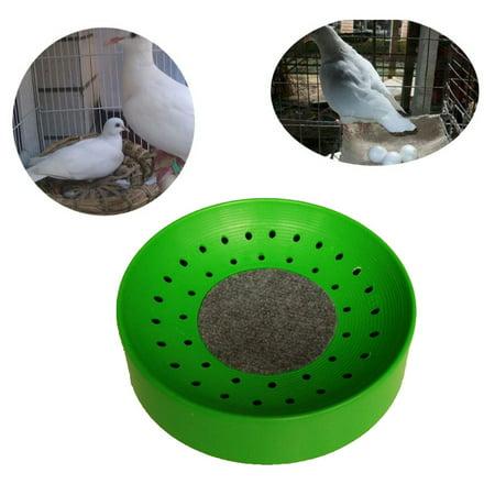 Pigeon Supplies - Outtop Pigeon Supplies Plastic Dehumidification Breeding Bird Egg Basin Nest Bowl Mat