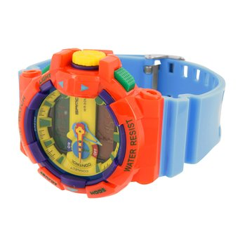 Multi Color Sports Watch Kids Men Shock Resistant Funky With Light Digital An