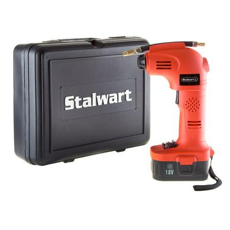 Stalwart 18V Cordless Multi Purpose Air Compressor