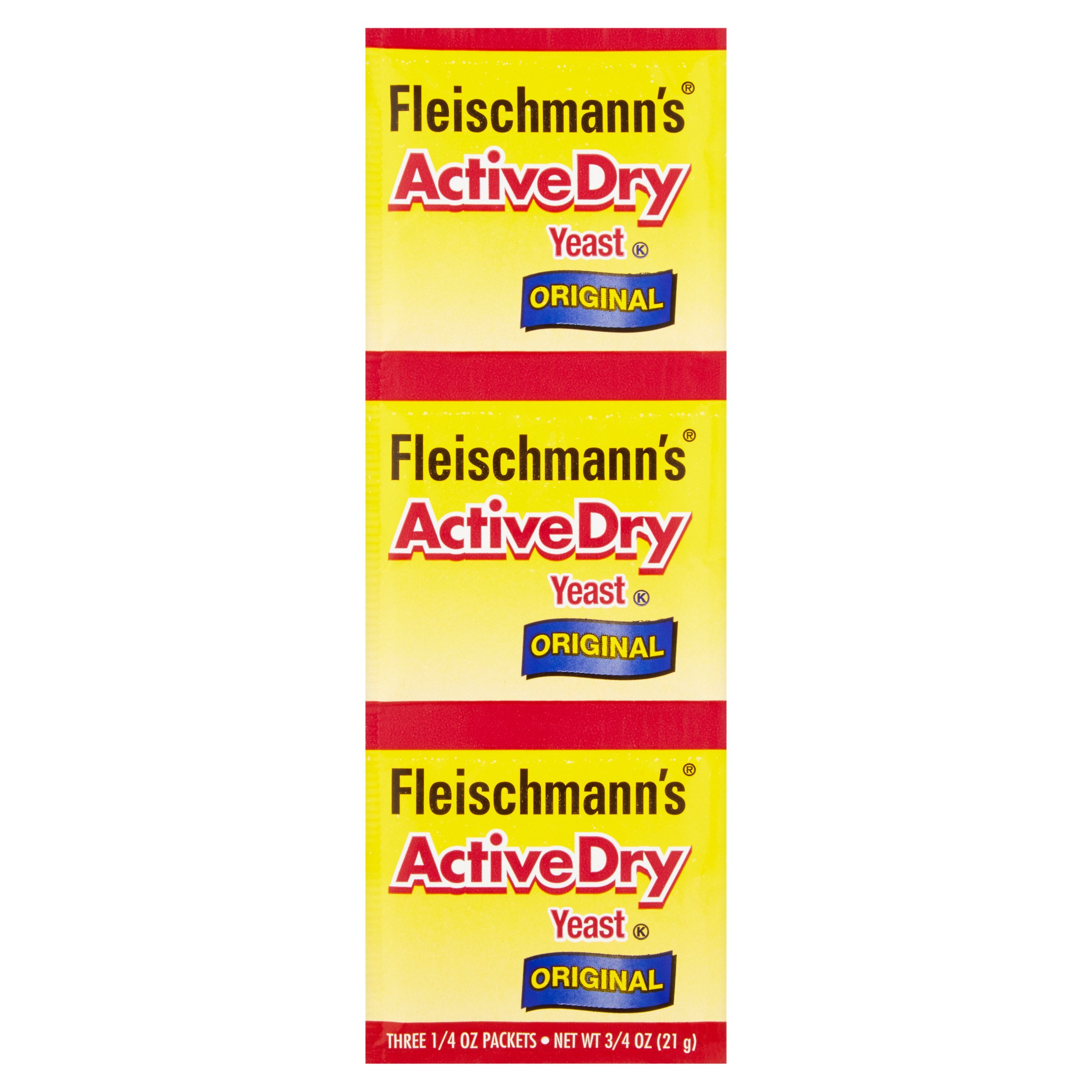 Fleischmann's ActiveDry Yeast Original 3 CT by ACH Food Companies, Inc.
