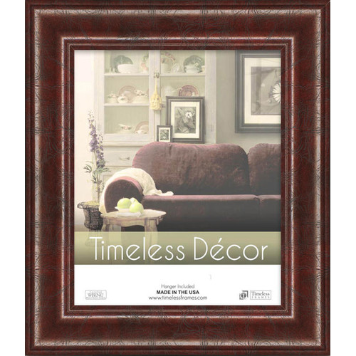 Executive Wall Picture Frame, Mahogany, 16 x 20