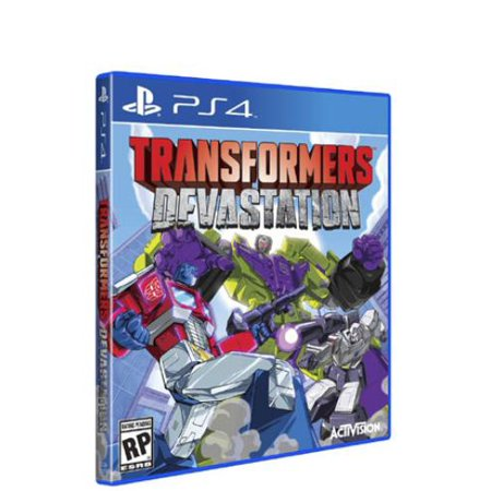 Activision Transformers: Devastation - Action/adventure Game - Playstation 4 (Video Isolation Transformer)