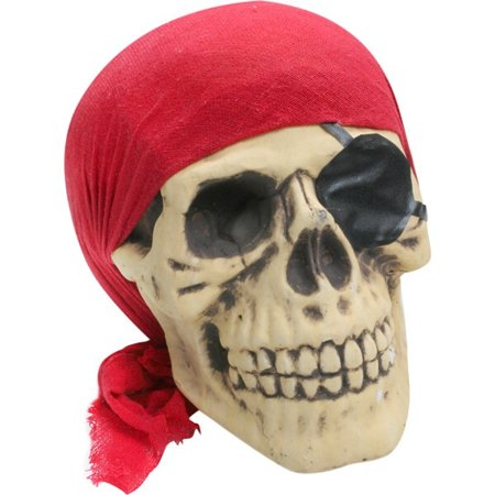Bones Pirate Skull Halloween Prop