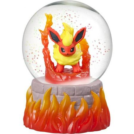 Pokemon Flareon Snow Slow Life Globe](Personalized Snow Globes)