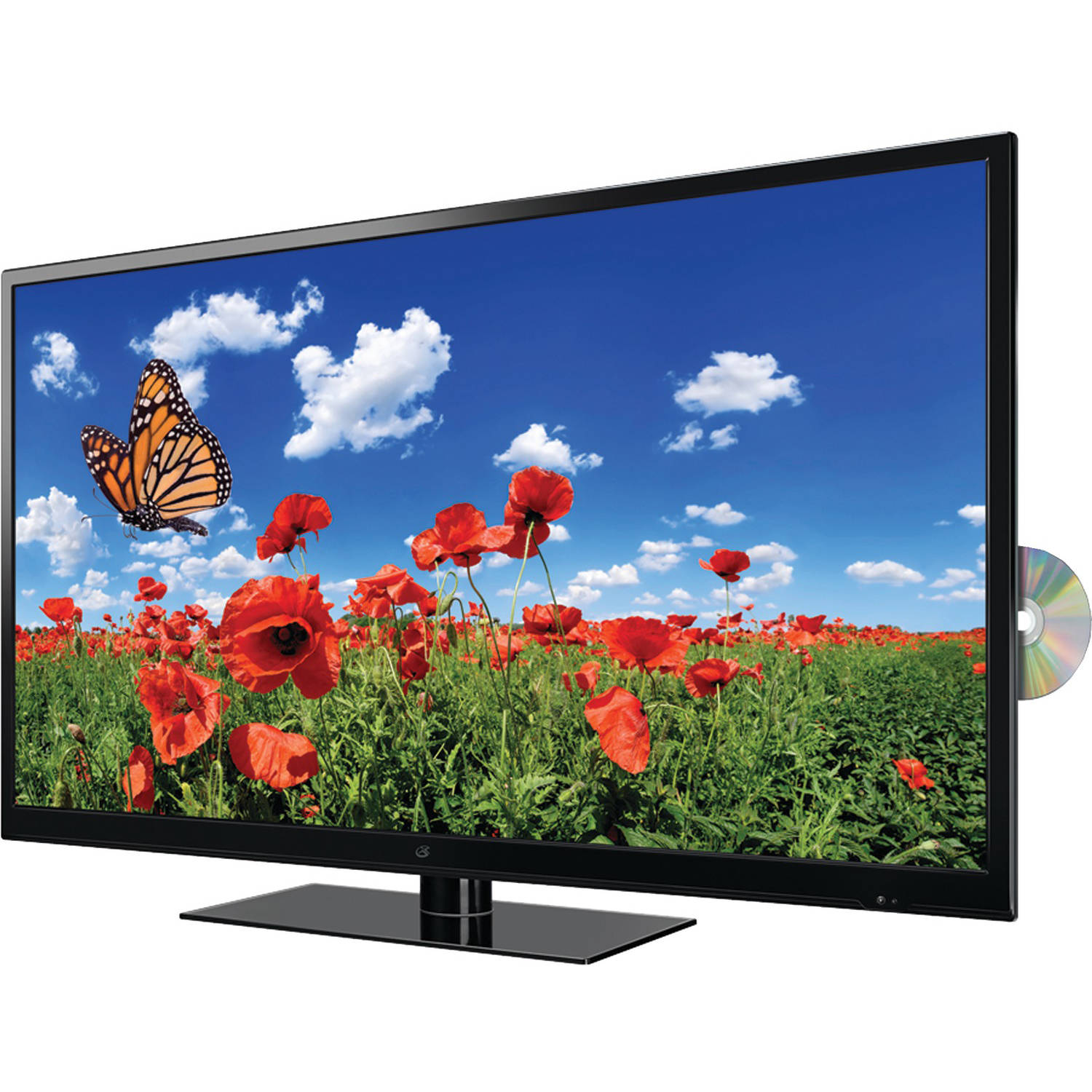 "GPX TDU4235B 42"" 4K Ultra HD 2160p 60Hz LED HDTV DVD Combination (4K x 2K) by GPX"