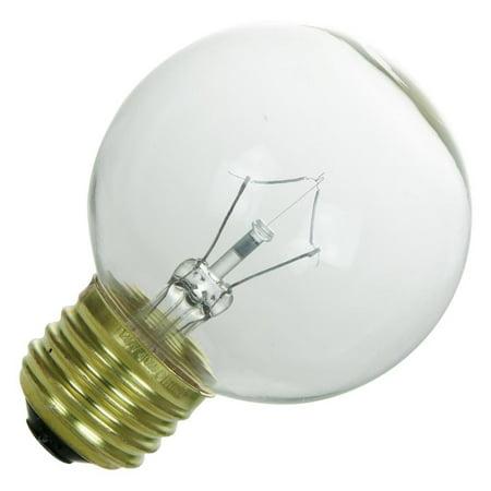 Sunlite 08250 - 25G19/CL 08250-SU G19 Decor Globe Light (G19 Globe)
