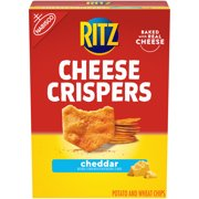 RITZ Cheese Crispers Cheddar Chips, 7 oz