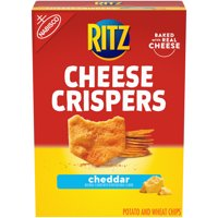 RITZ Cheese Crispers Cheddar Chips, 7 oz