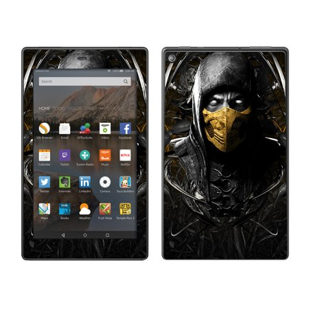 Scorpion Mask (Skins Decals For Amazon Fire Hd 8 Tablet / Scorpion Ninja)