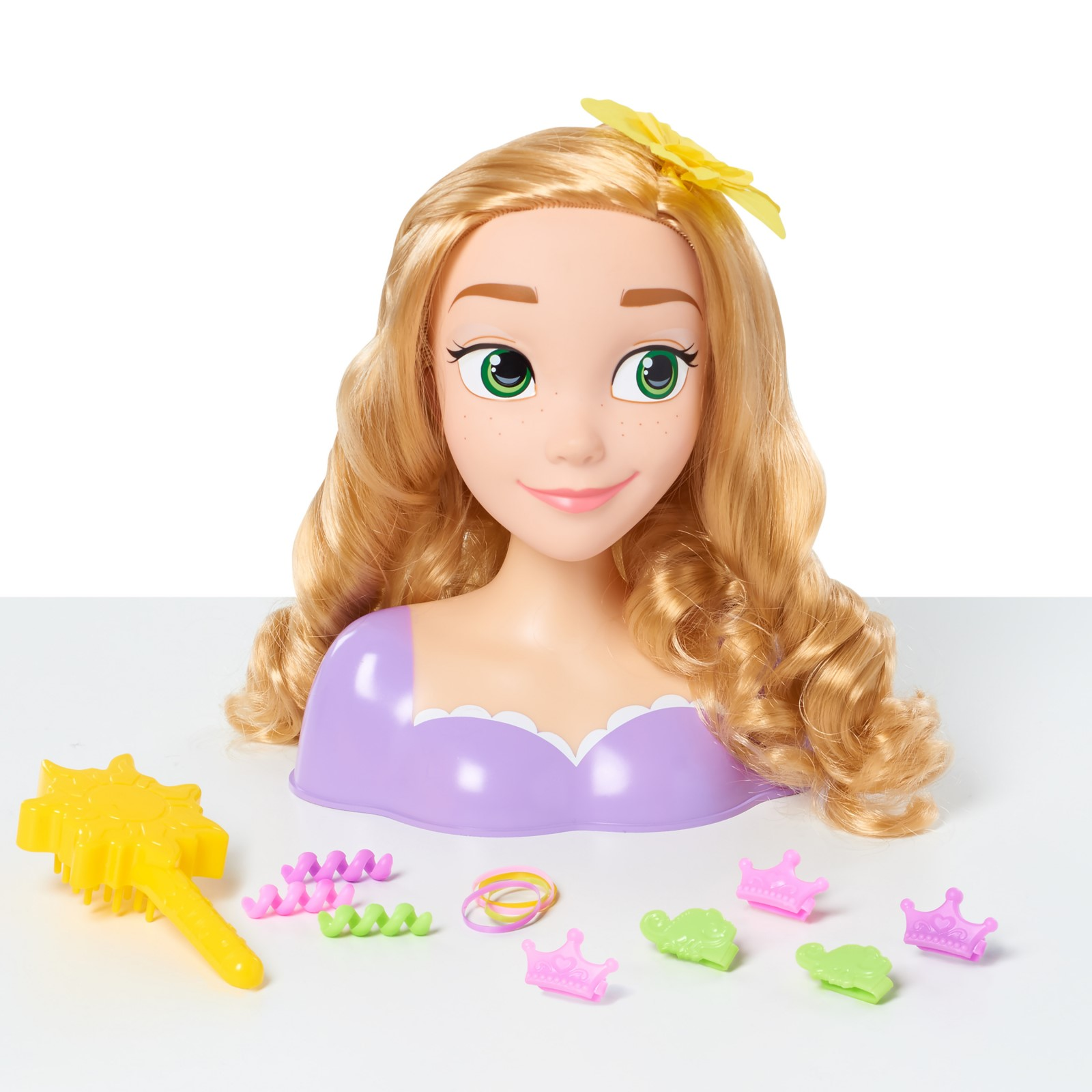 Disney Princess Rapunzel Styling Head