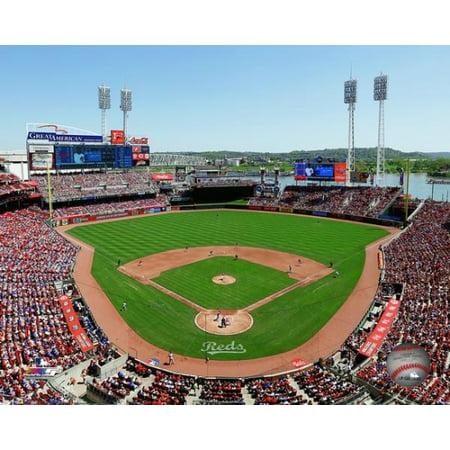 Great American Ballpark Framed Photo (Great American Ball Park 2016 Photo Print )