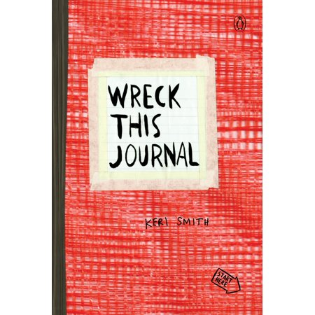 Wreck This Journal (Red) Expanded