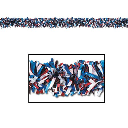 Patriotic Garland - Red White And Blue Garland