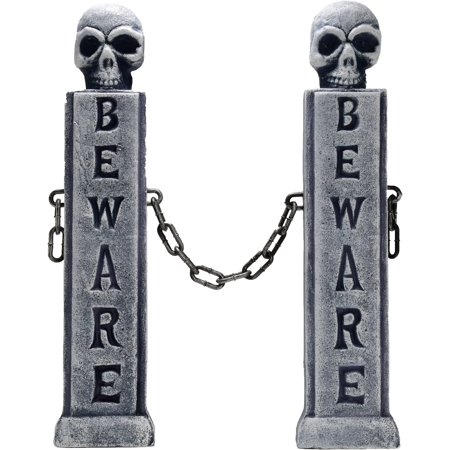 22 INCH CEMETERY MARKERS - Cemetery Archway Entrance Halloween