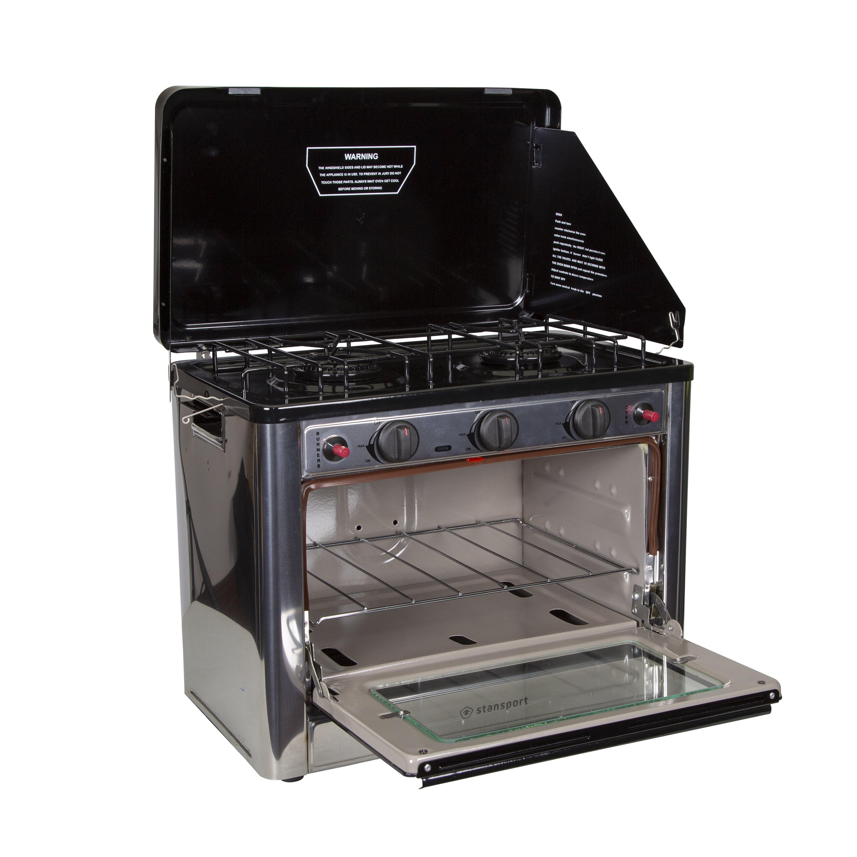 Stansport Propane Outdoor Camp Oven and 2 Burner Range - Walmart.com