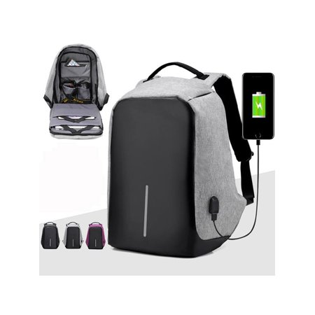 (Anti Theft with lock Waterproof Travel Shoulder Bags Backpack with USB Charging Port Backpack Laptop Backpack Sports Backpack)