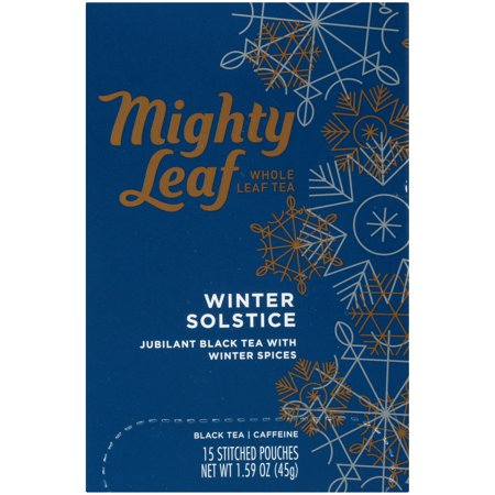 Mighty Leaf, Winter Solstice Tea Bags, 15 (Solstice Store Hours)