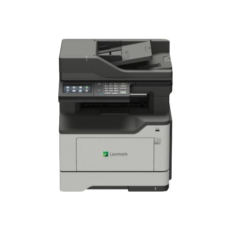 Lexmark MB2442adwe Laser Multifunction Printer - Monochrome - Plain Paper Print - Desktop - Copier/Fax/Printer/Scanner - 42 ppm Mono Print - 1200 x 1200 dpi Print - Automatic Duplex Print - 1 x