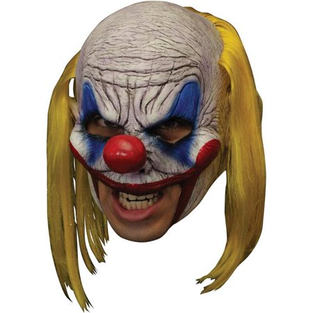 Clooney Clown Chinless Deluxe Mask (Clooney's Halloween Party)