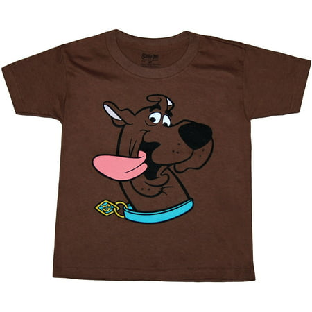 Scooby Doo Face Toddler T-Shirt](Scooby Doo Shirts For Toddlers)